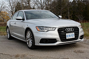 All-new Audi A6 is offered with a 3.0L engine that offers 310 horsepower and is mated to an eight-speed automatic transmission and comes standard with Quattro all-wheel-drive