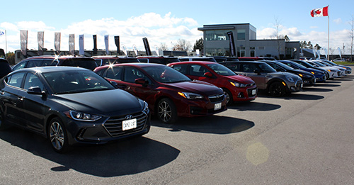 Canadian Car of the Year eligible vehicles