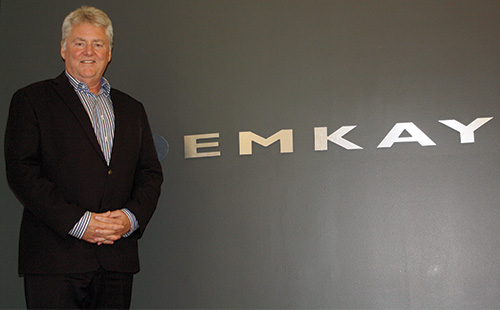 Norm Lyle, President, EMKAY Canada