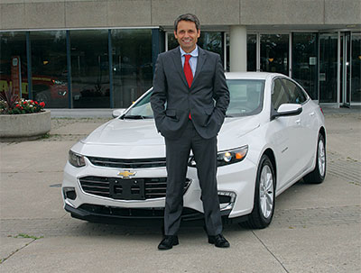 Roberto Carvalho, the new National Sales and Marketing Manager, Fleet Field Operations, VSM at General Motors Canadas
