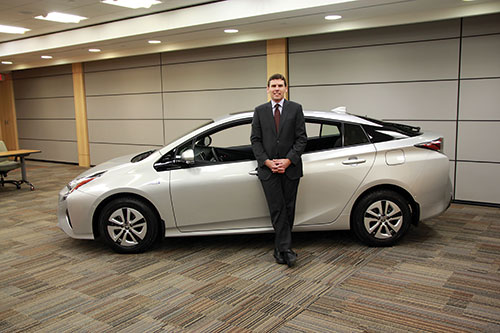 Larry Hutchison, President and CEO at Toyota Canada Inc