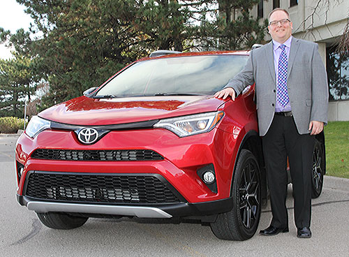 Derek Wilm, New Manager, Fleet Operations, at Toyota Canada Inc