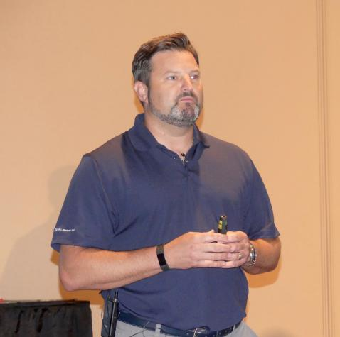 Peter Bagnall, GM, provided a company update during the meeting