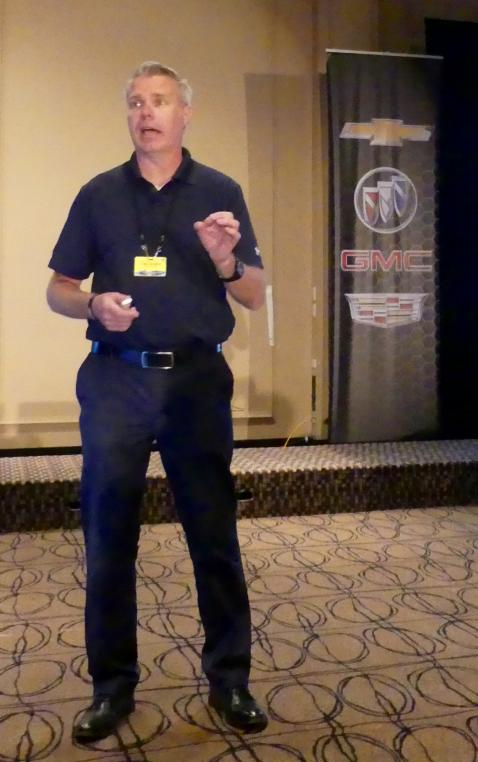 Craig Campbell, GM Head Product Trainer, delivered a high energy 2019 product overview