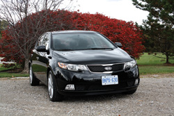2011 Kia Forte5 at launch in Ann Arbor