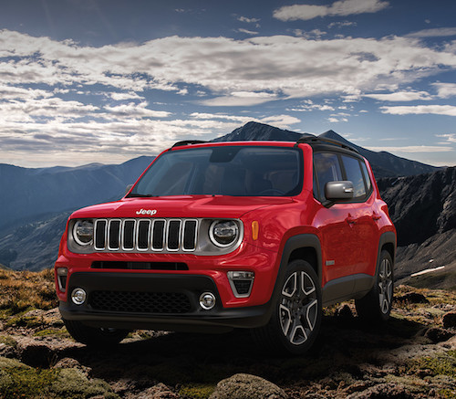 Jeep Renegade Earns 2019 Top Safety Pick Rating
