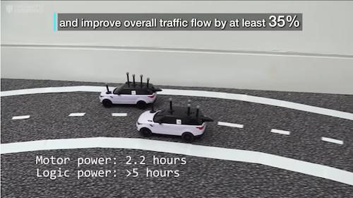 Cooperative driverless cars can speed up traffic by 35