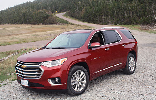 New Traverse Gets Around