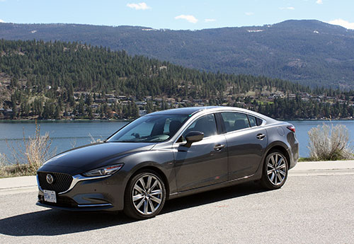 Mazda6 Moves Upmarket