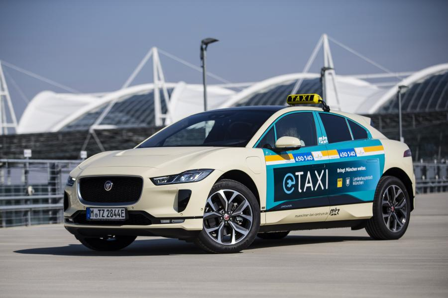 All-Electric I-PACE Taxi Fleet for Munich