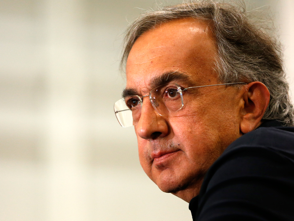 FCA's Sergio Marchionne Steps Down